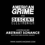 AG Livestream 002 - Abstrakt Sonance