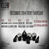 Chris Liebing  -  Live At Club4 (Barcelona)  - 11-Dec-2014