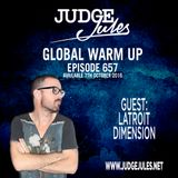 JUDGE JULES PRESENTS THE GLOBAL WARM UP EPISODE 657