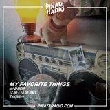 My Favorite Things w/ Dudz - 02.10.18