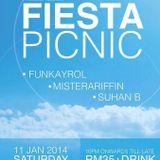 Phu5ion Podcast #036 FunkayroL (recorded live set at Fiesta Picnic)