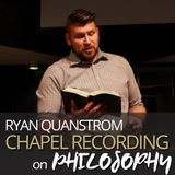Ryan Quanstrom on Philosophy 10.3.17