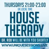 House Therapy with Dr Rob 1st November 2018 on www.uniquesessionsradio.live