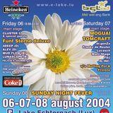 Lucasch @ E-Lake Festival (07.08.2004 Echternach, Luxembourg)