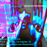 Safeword L.A. One Year Anniversary Party Mix DJ IXΘΥΣ 12/23/17 Grand Star Jazz Club, Los Angeles, CA