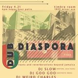 Dub Diaspora 4.21.17 - Timbre Room Patio