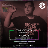 Dj Nikifor live @ Ibiza Global Radio 3 august 2018 - Tod Radio Show by Joshua Puerta - Guest Mix #24
