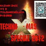 Techno X-Mas Special 2012 Zwaehnn Dhee(vreyeplattzwhal music) Live @ CityLoungeMülheim (24-12-2012)