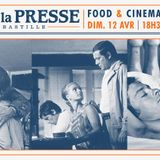 Food & Cinema #7 by ATN @ Cafe de la Presse (12-04-2015)