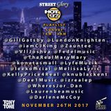 Street Glory on Hot 97 Live 11.26.17 (Thanksgiving Mix Weekend)