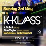 Ian Robinson Live @ House Masters - Institute Nightclub - 03-05-15