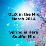 OLiX in the Mix March 2014 - Spring is Here - Soulful Mix