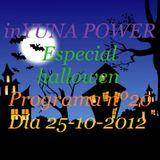 inyuna power programa 20 especial hallowen 25-10-12