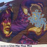 Old School & Underground Hip Hop Live Mix 10/29/14