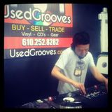 Bollywood & Bass: in-store @ Used Grooves, Easton PA, 3 May 2014