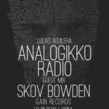 ANALOGIKKO RADIO BY LUCAS AGUILERA - SKOV BOWDEN - GUEST MIX - TM RADIO - Episode 045