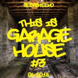 This Is GARAGE HOUSE #3 - June 2018