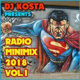 RADIO MINIMIX 2018 VOL.1 ( By Dj Kosta )