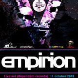 Empirion LIVE @ R.T. V Aniversario Area Retrospective 11/10/18 Sala Pirandello