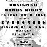 Unsigned Bands Night Preview - Evergreen Interview