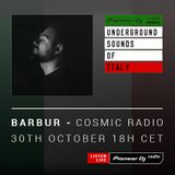 BERNY - Cosmic Radio #019 (Barbur Guest Mix) (Underground Sounds Of Italy)