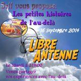 Les petites histoires de l'au-delà 16 Septembre 2014