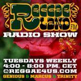 Reggaeland FM radio show @ reggae4us.com (04-Feb-2014 / P1)