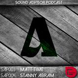 Sound Advisor Podcast 004 / 19.11.14 / STANNY ABRAM