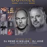 DJ JOSE B2B RENE VAN DER WEIJDE @ Cornelis Borrel, Rotterdam (NL) 26-05-2017 Including MC Choral