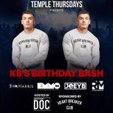 Temple Thursdays Mix KB's Birthday Bash