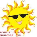 B3aNs Leisurely Summer mix