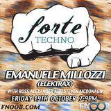 Forte Techno Show 19th October - Ross Alexander