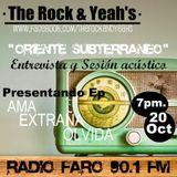 Oriente subterráneo programa transmitido el día 27 10 2011 por Radio Faro 90.1 FM!!
