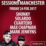 Max Chapman - live at Solardo Sessions (Albert Hall, Manchester) - 24 February 2017