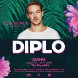 Diplo @ The Republik Hawaii, United States - 13-Jan-2018