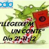 """LLEGEIXE'M UN CONTE"" 21-11-12"
