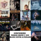 SURFINBIRD RADIO SHOW # 466 BLUES WITH A FEELING