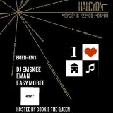 DJ EMSKEE LIVE 1ST SET FROM THE EM3 PARTY @ OUTPUT IN BROOKLYN, NYC (CLASSIC DISCO AND HOUSE) 10/16