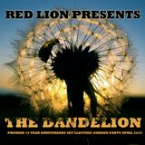 Red Lion Presents - The Dandelion - Promise 15 Year Anniversary Electric Garden Party Set