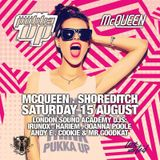 Uplifting Vocal House set @ McQueen, London (15.08.2015)