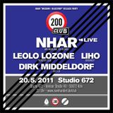 Nhar Live @ 200 Club, May 20, 2011, Studio 672, Cologne