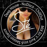 Deep House Chill Out Music 20 avril 2016 / Summer Mix / Nu Disco / MIX DJ 's'