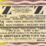 Bass Generator Rezerection 'Au Revoir' 29th December 1992