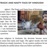 0042 AGHORI : THE TRAGIC AND NASTY FACE OF HINDUISM
