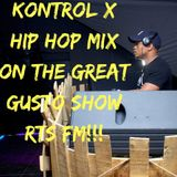 THE GREAT GUSTO SHOW MIX ON RTS FM FRIDAY 2018/08/28