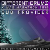 DIFFERENT DRUMZ X-mas marathon 2016 - Guestmix by Sub Provider