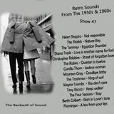The Backwall of Sound Retro Vinyl From the 1950s & 1960s - Show 47