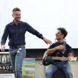 Edoardo Bennato al Passioni Festival di Arezzo intervistato da Andrea Scanzi