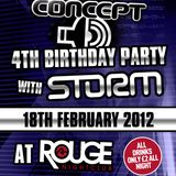 SoNiK@Concept_4th_Birthday_with _Storm