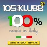 100% MADE IN ITALY WEEK 46-2017